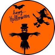 Disque azyme Halloween